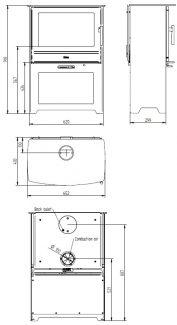 Plan Heta Inspire 55H Compartiment Bois