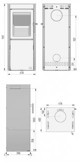 Plan Heta SL 550 Acier